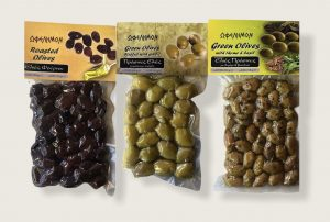 Verschiedene Oliven